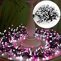 Wholesale Led Outdoor Christmas Trees - 10ft 400 LED Waterproof Globe Fairy String Lights LED Flash Strings with 8 Lighting Modes for Outdoor Indoor Bedroom Party Wedding Christmas