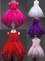 Wholesale Dresses Trade - A undertakes to sell 5 color hot sell Foreign trade style new arrivals Girls Lovely sequined Trailing skirt princess dress fashion dress