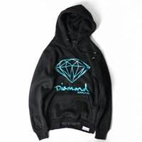 No black diamond hoodies - new autumn Brand Diamond black Men Hip Hop Sweatshirts Pullover Hoodies male tracksuit Moleton fashion clothes S XXL