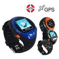 Wholesale Gps Lcd Screen - ZGPAX S88 SOS GPS Bluetooth Smart U Watch SIM Card Phone Wrist Watch Location with LCD Screen SMS Smartwatch Smartphone For Child Kids Older
