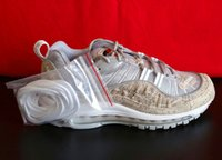 Wholesale Cheap Designer Free Shipping - Cheap Sale Maxes 98 Designer Shoes Low Top Men's and Women's Casual Shoes Fashion Mens Shoes Free Shipping
