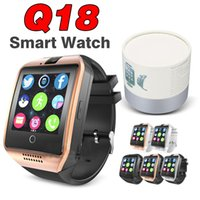 Wholesale Kids Wear Wholesale Korean - Q18 SmartWatch Z60 GT08 DZ09 Mobile Phone smart watches Bluetooth TF SIM Card Smart Wear Touch Watch NFC Camera Pedometer waterproof camera