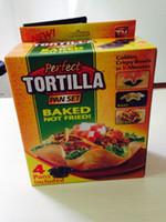 Wholesale Tortilla Pans - Wholesale- 4 Pieces tortilla pan set 5 inches Non-stick Pans