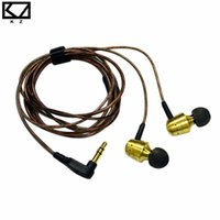 Wholesale Vintage Earphone - KZ GR Professional Outdoor Sport Wired Earphones Vintage Design Noise Isolation Super Stereo Bass In Ear Earphone