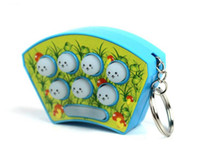Wholesale Electronic Hamsters - Whack Mole Hamster Attack Hit Mole Electronic Baby Kids whack-a-mole Game Consoles