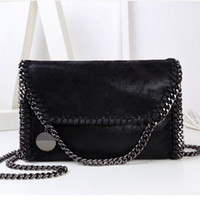 Wholesale Blue Crossbody Bags - Wholesale-2016 Crossbody Bag Chain Stella Bag Sac Fashion Simple Portable Women Shoulder Femme Messenger Bag Leisure Women's Clutches