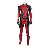 ingrosso xxl deadpool suit-New Superhero Battleframe X-Men Deadpool Costumi Costum Costum Full Suit Mask
