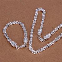 Wholesale Cheap Bulk Bracelets - 925 Free Shipping Trendy S027 2015 bulk sale cheap bridal party jewelry sets (1 sets) Wedding fashhion With