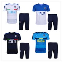 Wholesale Thailand Quality Free Shipping - 2016 2017 Thailand Quality Italy training suits 16-17 Italy buffon verratti de rossi pirlo Training Suit free shipping