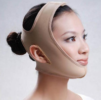 Wholesale Sagging Scalp - 1pc lot Face Slim Lift Up Belt Facial Slimming Massage Band Cheek Scalp Chin Uplift Shape Sleeping Anti Wrinkle Shaping Sagging Mask