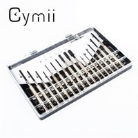 Wholesale Phillips Mobile Phone - Wholesale- Cymii 16Pcs Lot Hex Phillips Slotted Screwdriver Watch Mobile Phone Jewelry Watch Repair Tools Kits