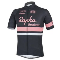 Wholesale Comfortable Bicycles - 2017 Rapha Cycling Jersey Short Sleeves Summer mtb bike Shirts Cycling Clothes sports Wear Comfortable Hot New bicycle tops F2802