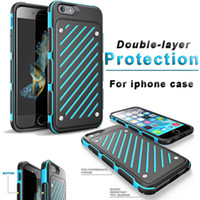 TPU orange sword - For iPhone S plus Armor s Colorful TPU PC Sword Phone Case with Opp Package