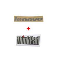 Wholesale Laptop Logo Stickers - 10PCS Lot OEM New For Lenovo & Thinkpad LOGO Sticker for Lenovo Thinkpad T430 T430i Series laptop