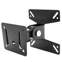 Wholesale Lcd Plasma Stands - Universal Rotated SPHC TV Wall Mount Swivel TV Bracket Stand for 14 ~ 24 Inch LCD LED Flat Panel Plasma TV Holder