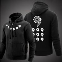 Wholesale dot cosplay for sale - Naruto Hoodies Anime Ootutuki Hagoromo Rikudo Sennin Cosplay Coat Naruto Jacket Winter Men Thick Zipper Hoodie Sweatshirts