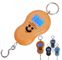 Escala Eletrônica Portátil 50kg / 10g Mini Peso Escalada De Bagagem De Viagem Digital Handy Pocket Weight Hook Scale for Fishing Courier