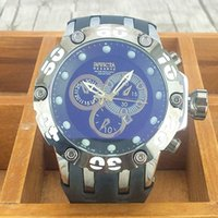 Wholesale 2017 New Brand Quartz Watches Invicta Watch Men Fashion Business Wristwatch Military Sport Relogio Male invicta watches
