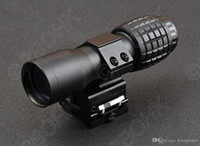Tactical red dot scope sight 5x Magnifier Compact Tactical Sight con lateral Flip picatinny gun rail mount M8567