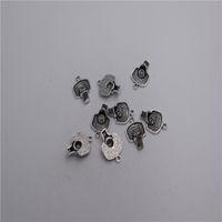 encantos de basquete de liga de zinco venda por atacado-Novos Materiais: liga de zinco do metal 16 * 14mm, loop: 1mm 14 pcs antigo banhado a prata cesta de basquete charme pingente T0197