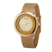Wholesale New Trends Clothes Girls - Fashion Trends Girls Super Pu Net Chain Watches Ladies Student Clothing Quartz Watch Gift Table Reiogio