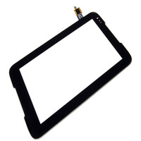 Wholesale free 7inch tablet online - 50PCS Touch Screen Digitizer Replacement for Lenovo A1000 inch Tablet Touch Panel Black free DHL
