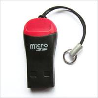 memória flash usb 64 venda por atacado-Leitor de Cartão USB TF USB 2.0 Micro SD T-Flash Leitor de Cartão de Memória TF M2 Adaptador de Alta Velocidade para 4 gb 8 gb 16 gb 32 gb 64 gb Cartão Micro SD Bom MQ500
