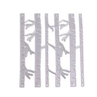 Wholesale Metal Die Cuts - Birch Trees DIY Metal Cutting Dies Stencil Scrapbook Card Album Paper Embossing Craft