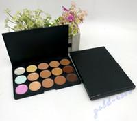 Wholesale Cream Plates - HOT Makeup Face Concealer Professional 15 color Concealer plate+FREE GIFT