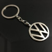 Wholesale Vw Logo Keychain - 2017 new Car Styling for volkswagen Keychain Series of hollow metal keychain logo emblem key chain for vw Keyring