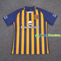 Wholesale Central Homes - Rosario Central Home Football Soccer Jerseys Blue Yellow Shirts