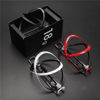 Wholesale New Bike Lights - 2017 new design super light bike bottle cage Holder Water cage Holder Bicycle Parts MTB carbon bottle cages mtb time trail