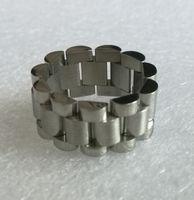 bandas flexibles al por mayor-Anillo flexible ajustable del vínculo de la banda de Adjustabler del acero inoxidable del envío 10m m