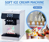 Wholesale ice cream machines for sale - Group buy Free shipment CE EMC certificate desktop countertop gelato soft ice cream machine yogurt ice cream machine for Cafes Bars Restaurant