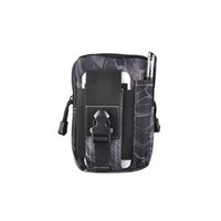 Wholesale Rugby Smartphone - New Outdoor Sport Waist Bag Casual Tactical Belt Loops Molle Military Waist Fanny Pack Smartphone Mobile Phone Case 2509001