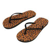 Wholesale Womens Thongs Medium - Wholesale-4Pattern Cool Men Womens Summer Fashion Beach Flip Flops Thong Flat Sandals Slipper Girls Shoes Hot Selling
