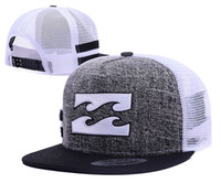Wholesale bong hats - Good Selling Cheap Fashion Billa Snapback Caps bong Hats Men Women Sport Snap back Summer Truck Mesh Cap Hip Hop lorry Adjustable Hat