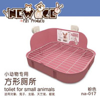 Wholesale Pig Tray - wholesale Pet Hygiene Supplies Small Animal Products Cage Corner Large Size Toilet Litter Tray Litter Box For Rabbit Guinea Pig Chinchilla