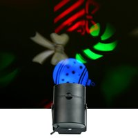 Wholesale Uk Christmas Cards - EU US UK led laser Lamp lights 3w card lights multi-color 100lm automatic laser lightings projectotor Halloween Christmas holiday decoration