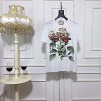 Wholesale ladies rhinestone shirts - Women Summer Style T-shirt Casual Tee Shirt femme Ladies Top Tees Cotton Tshirt Female Brand Clothing T Shirt Printed Tops