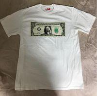 t couvre achat en gros de-Tee-shirt 17FW Dollar Tee couvrir votre visage