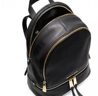bayan takılar toptan satış-Sırt çantaları tasarımcı 2017 moda kadın lady siyah kırmızı sırt çantası çanta takılar ücretsiz kargo