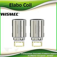 Wholesale Predator Head - Authentic Wismec Elabo Coil Head Triple 0.2ohm & NS Triple 0.25ohm Replacement Coils Atomizer Fit Predator 228W Kit 100% Genuine 2235028