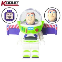 Wholesale Buzz Toy Story - 10pcs Buzz Lightyear Three Figures heads KORUIT SY172-1 Toy Story Woody Building Blocks Bricks Assemble Mini Toy Action Figures Super heroes