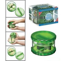 Wholesale Green Cutter Vegetable - Garlic Pro Shredder Garlics Cutter Multi Function Cut Up Vegetables Implement Greens Press Tool Easy Twist Action 7bn R