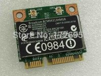 Atacado- Broadcom Bcm94313HMGB BCM4313 Half Mini Pci-e 150Mbps Bluetooth4.0 Wireless Wifi Card