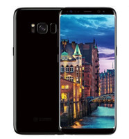Wholesale Single Sim 4g - ERQIYU Goophone S8 S8+ 5.6inch edge cell phones MTK6592 Octa Core Show 4G LTE 4G RAM 64GB Android 7.0 Unlocked Smartphones