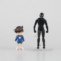 Wholesale Detective Conan Toy - Anime Detective Conan figFIX Conan Edogawa & figma Criminal Figure Model Toy