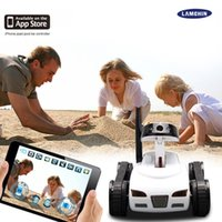 Wholesale Rc Car High Quality - 2017 High Quality RC Mini Tank Car HD Camera Video Car Toy Wifi Wireless Camera Realtime Remote Control Toys with Package