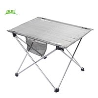 Wholesale Foldable Outdoor Tables - Wholesale- BRS-Z33 Portable Outdoor Folding Table Oxford Fabric Ultralight Foldable Table Anti-concave Design with Carrying Bag for Camping